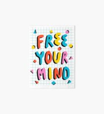 Hella' - retro 80's throwback vibes typography neon positivity  Art Board