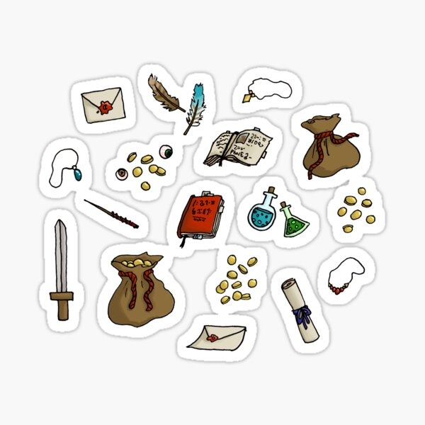 Adventurer's Kit Sticker