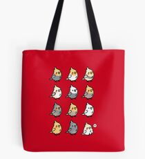 Chubby Cockatiels Tote Bag