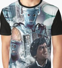 The Cyberman Tomb Graphic T-Shirt