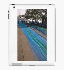 blue fishing net (Sasoon duck, mumbai)  iPad Case/Skin