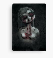 Dead Girl Canvas Print
