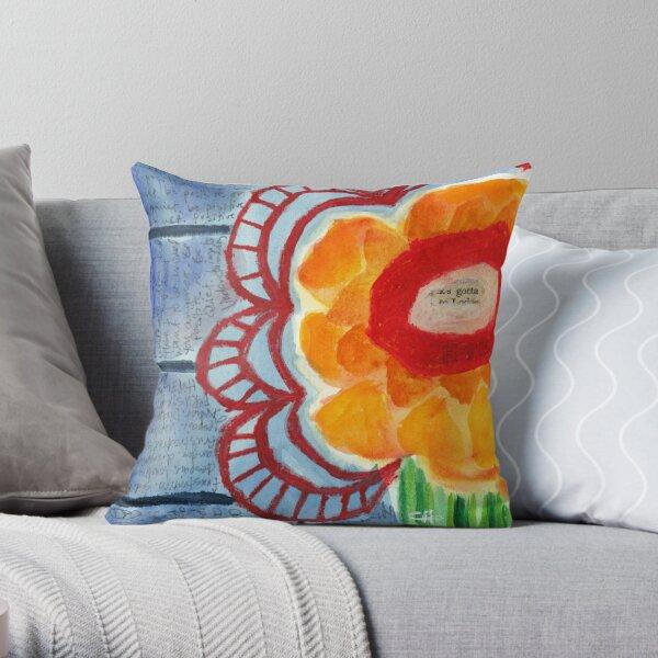 Project 321 - Gotta Flower Throw Pillow