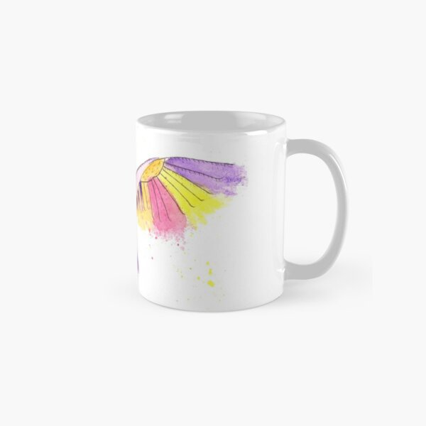 Number 10 in my series of strange birds is the Oogling Multi-Colored Owl Classic Mug