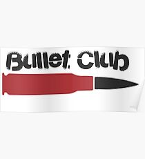 red bullet club Poster