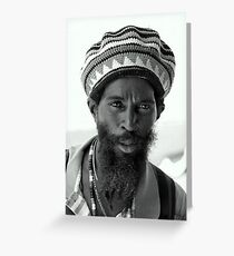 Rasta Greeting Card