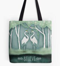 The Crane Princesses Tote Bag