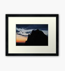 Meaningful Night Framed Print