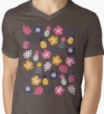 Forever Summer Tropical Pattern on Mint Green T-Shirt