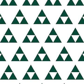 Subtle Green Triforce by jetpackpaul
