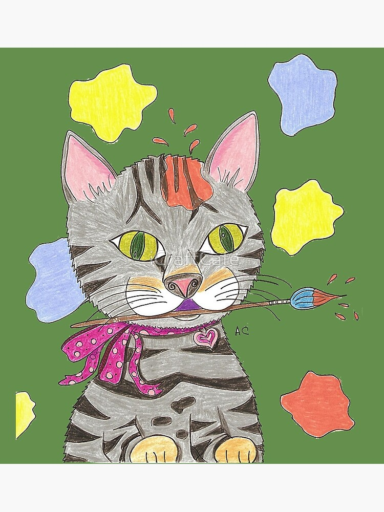My Cat Portrait by iCraftCafe
