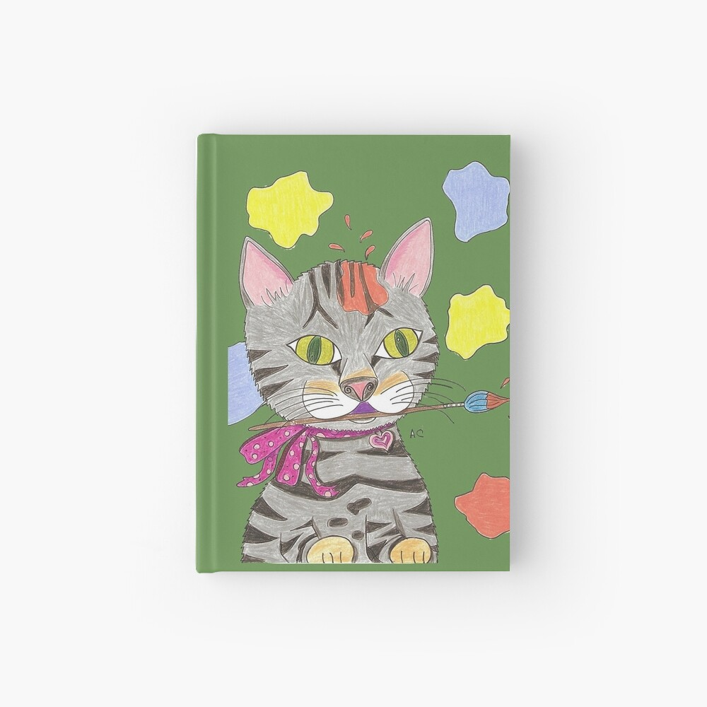 My Cat Portrait Hardcover Journal