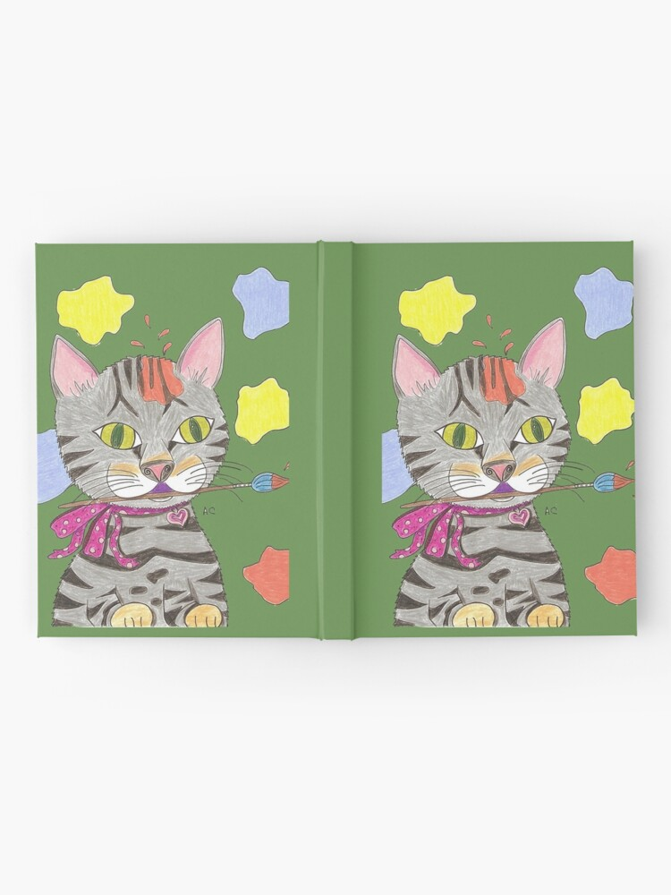 Alternate view of My Cat Portrait Hardcover Journal