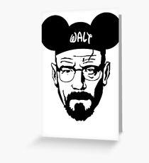 WALT MOUSE EARS Greeting Card