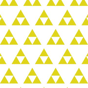 Triforce Green and Gold by jetpackpaul