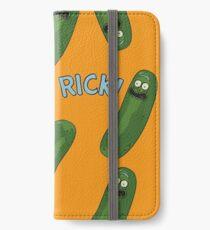 much pickle rick iPhone Wallet/Case/Skin