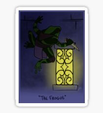The Frogue Sticker