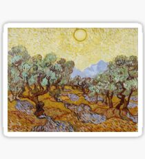 Vincent van Gogh - Olive Trees (1889) Sticker