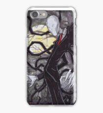 Slenderman Creepypasta Chris Oz Fulton iPhone Case/Skin