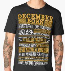 DECEMBER BORN Men's Premium T-Shirt