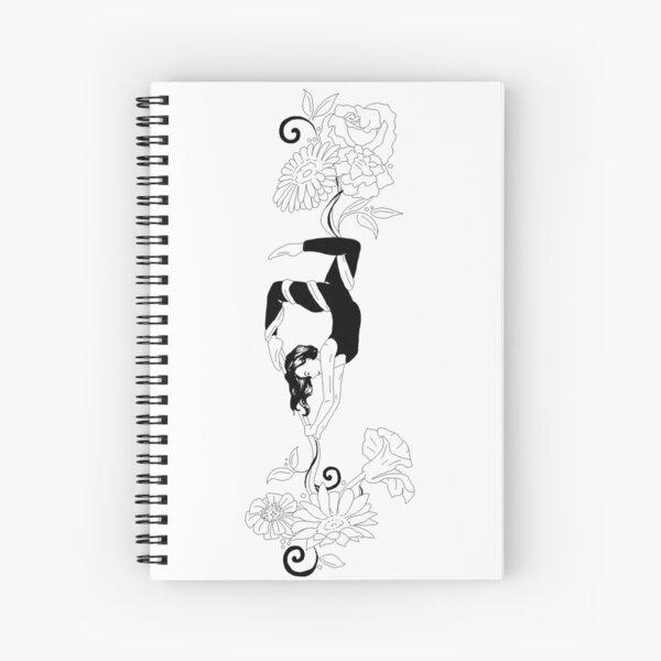 Aerial Silks Design Spiral Notebook
