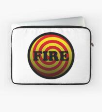 Fire Laptop Sleeve