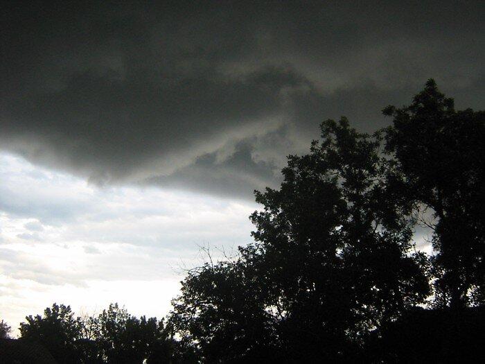Hail Storm by lisamariee