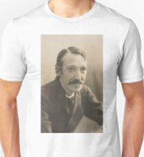 Vintage Robert Louis Stevenson Photo Portrait  T-Shirt