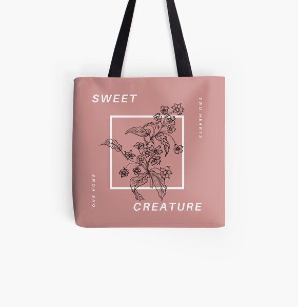 sweet creature All Over Print Tote Bag