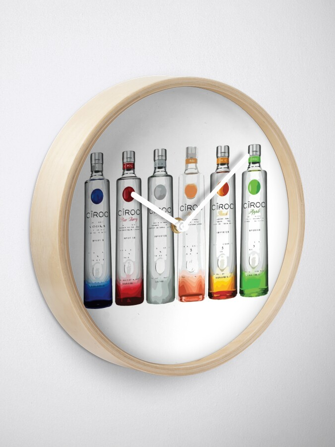 Alternate view of Ciroc Clock