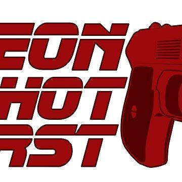 Blade Runner - Leon Shot First (v2) by misterDNA