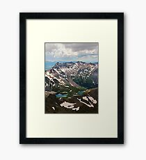 Mt. Sneffels Summit Framed Print