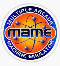MAME Multiple Arcade Machine Emulator Sticker