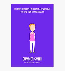 Minimalist Summer Smith Photographic Print