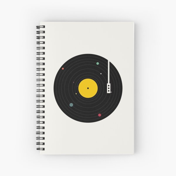 Music Everywhere Spiral Notebook