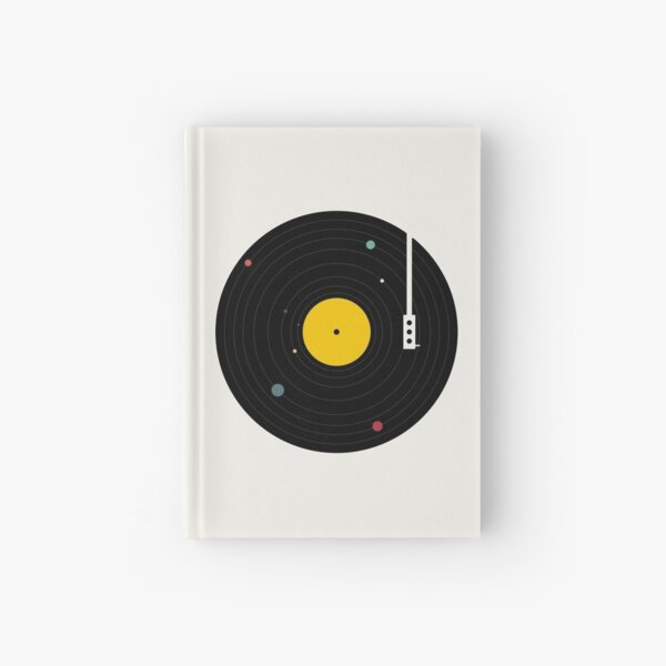 Music Everywhere Hardcover Journal