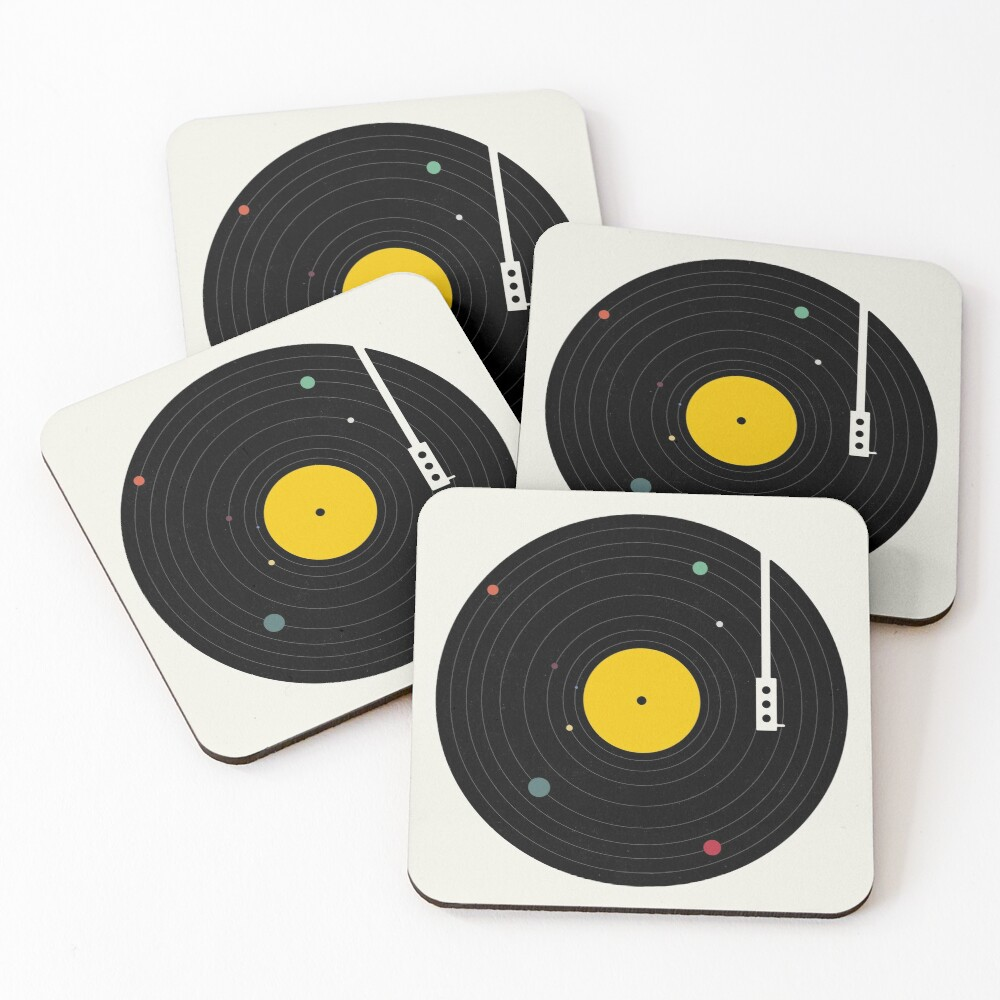 Music Everywhere Coasters (Set of 4)