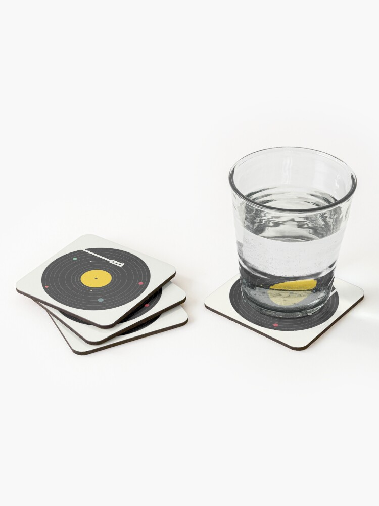 Alternate view of Music Everywhere Coasters (Set of 4)