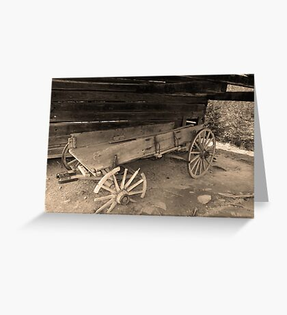 Times Gone By Greeting Card