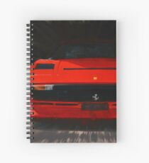 Ferrari 208 GTB Turbo. 1982 Spiral Notebook