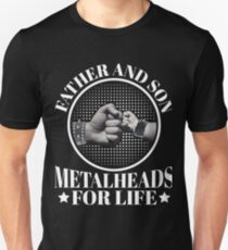 Father & Son, Metalheads for Life T-Shirt