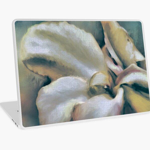 Lily In The Garden Coastal Laptop Skin