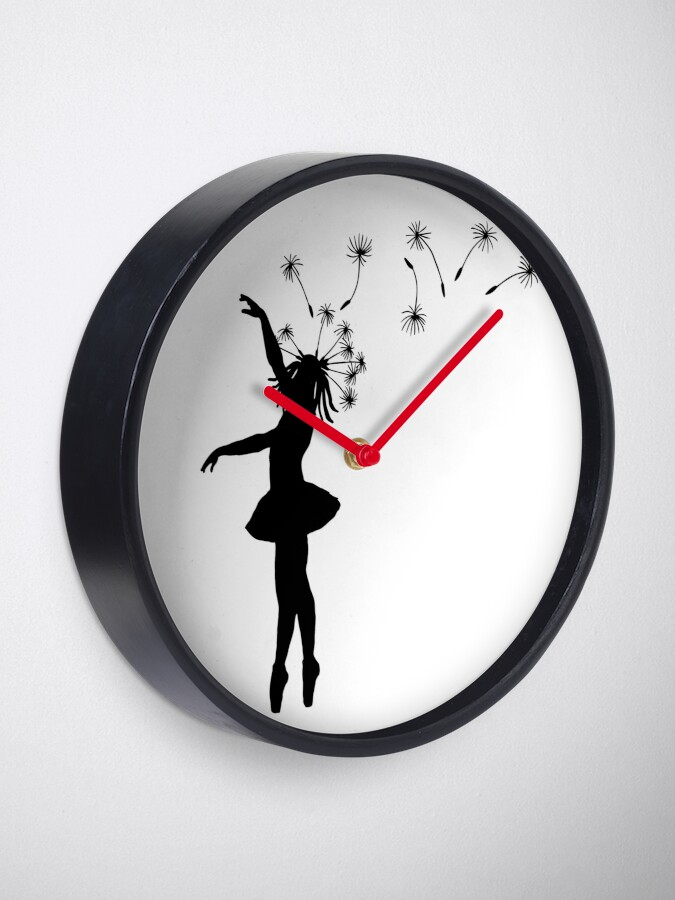Wall Clocks Ballerina Flying Wall Clock