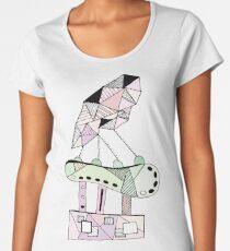Abstract Sculpture Women's Premium T-Shirt