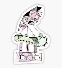 Abstract Sculpture Sticker