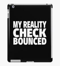 Funny Sarcastic Person Text Design iPad Case/Skin