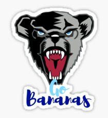 University of Maine - Go Bananas Sticker