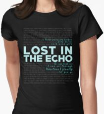 Lost In The Echo - Linkin Park Women's Fitted T-Shirt
