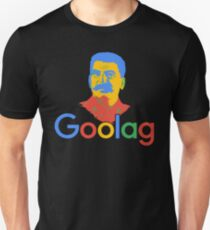 Goolag Stalin Gulag Meme Political Dark Humor Unisex T-Shirt