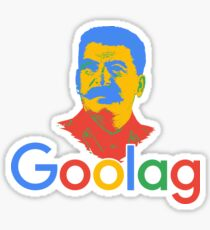 Goolag Stalin Gulag Meme Political Dark Humor Sticker